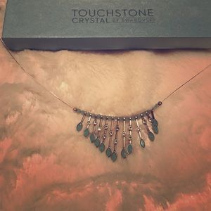 Crystal Turquoise necklace NWT